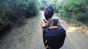 Backpack for nomads