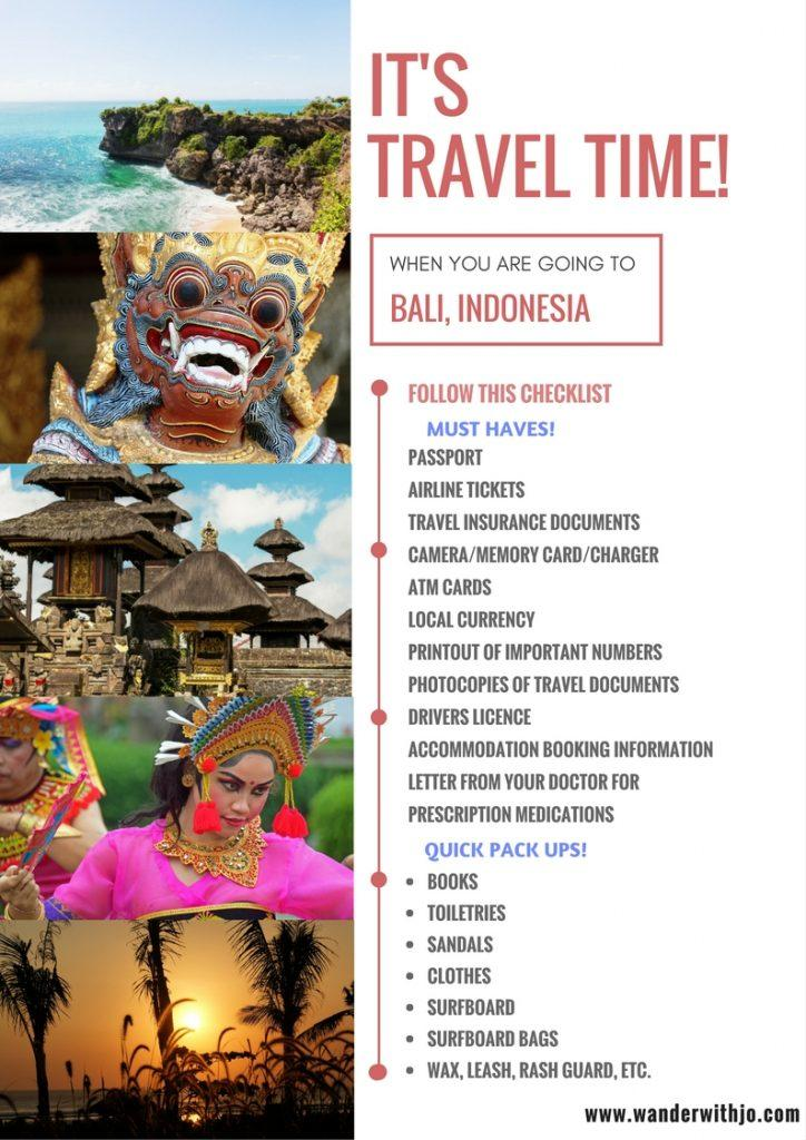 Travel Tips - Bali
