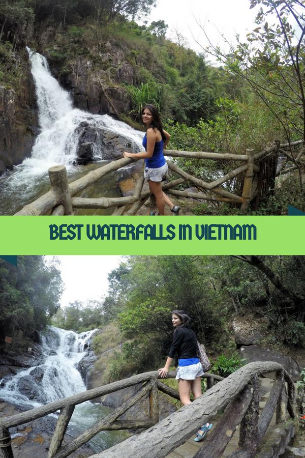dalat waterfalls