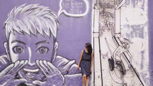 Wall art in georgetown