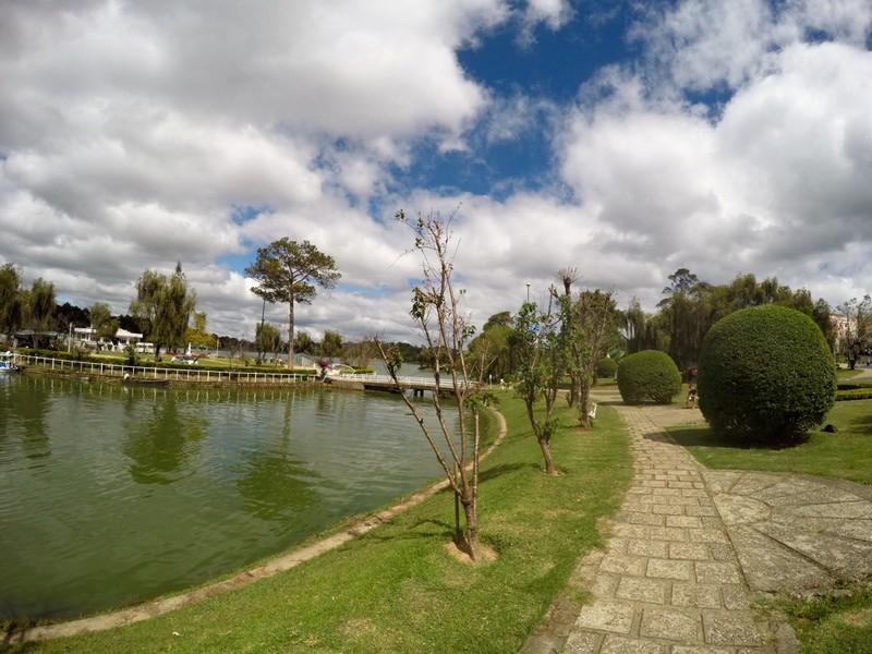 Gardens by the Xuan Huong Lake