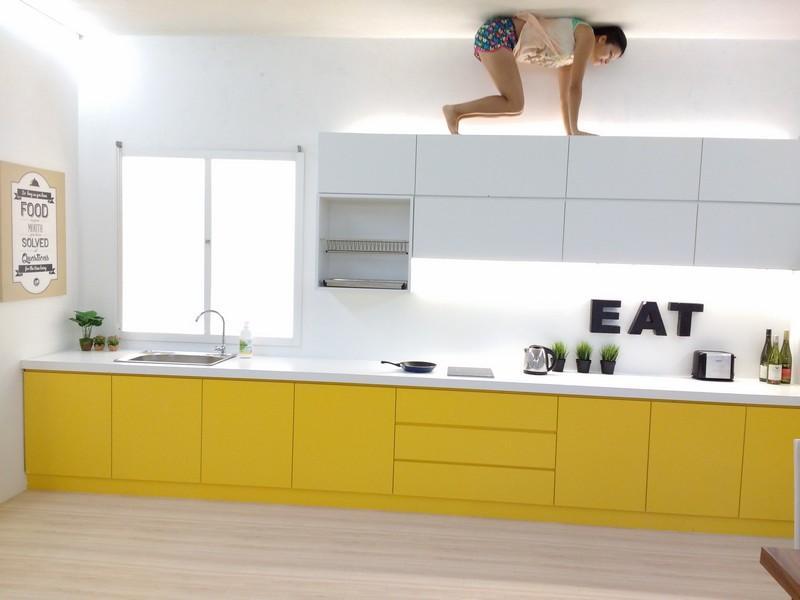 upside down kuching