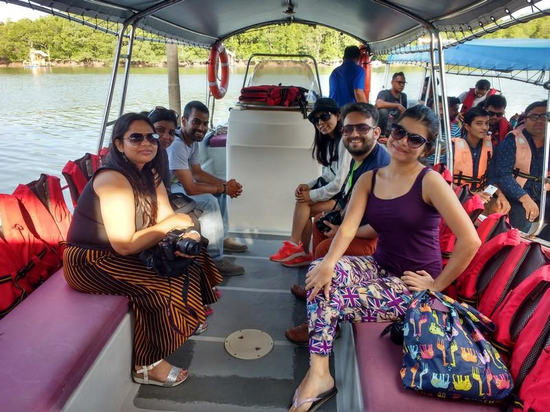 All set for the mangrove cruise