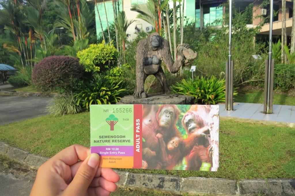 Entry ticket semenggoh