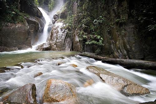 Chiling Falls near KKB Selangor