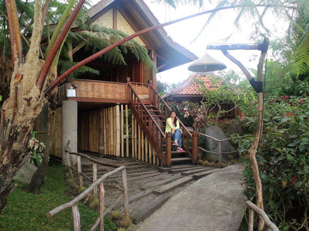 Indonesian village replica