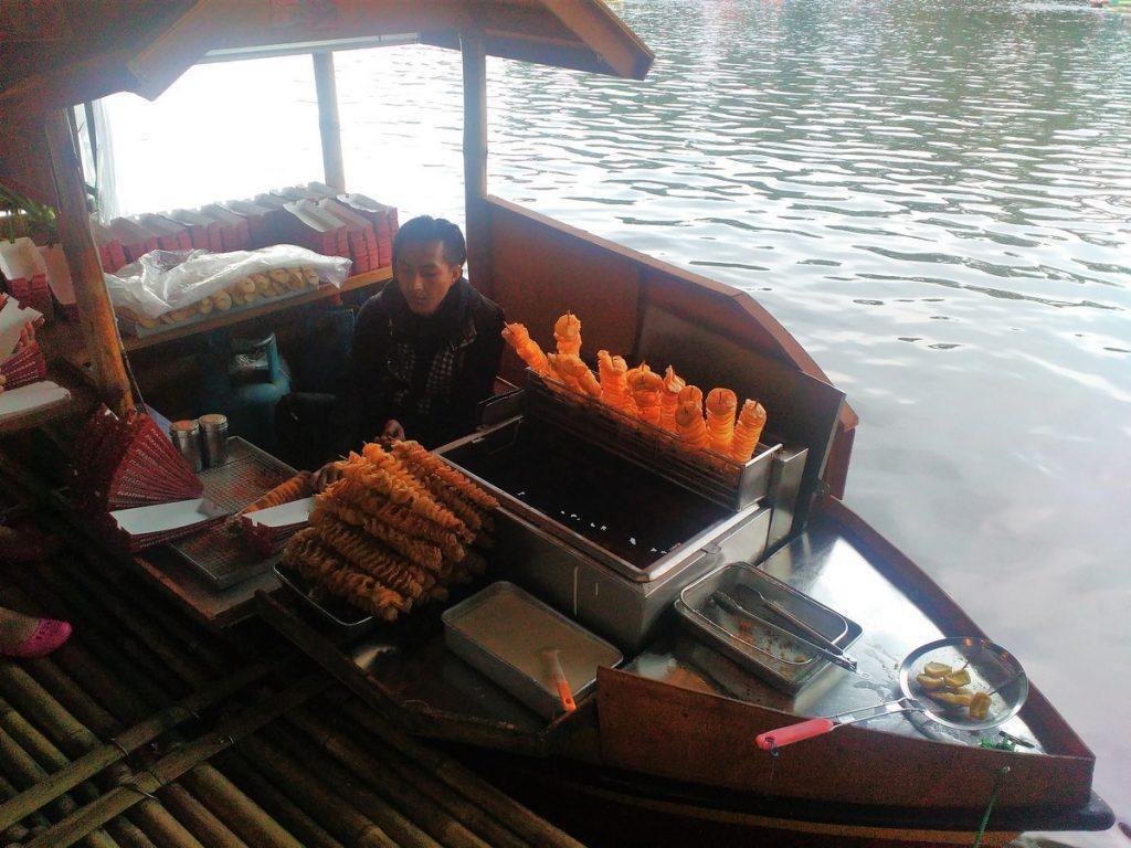 Food on boat