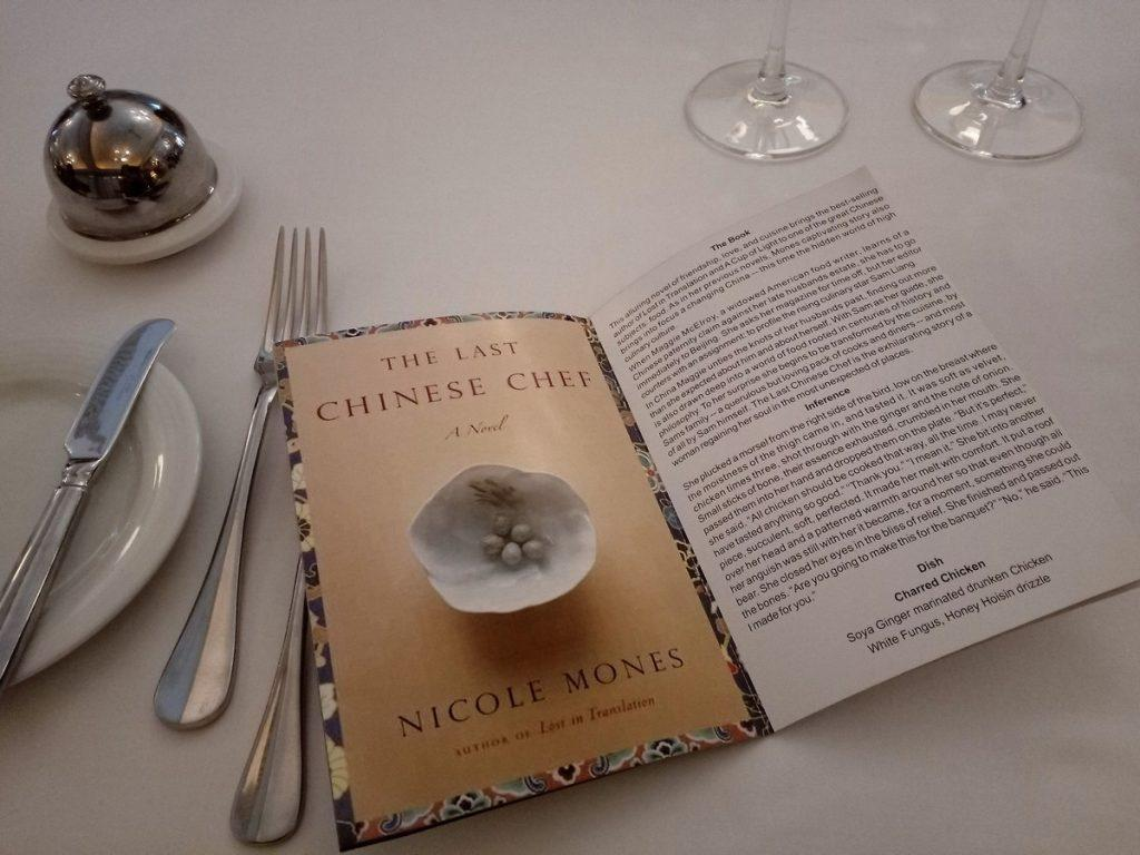Book excerpt from The Chinese chef