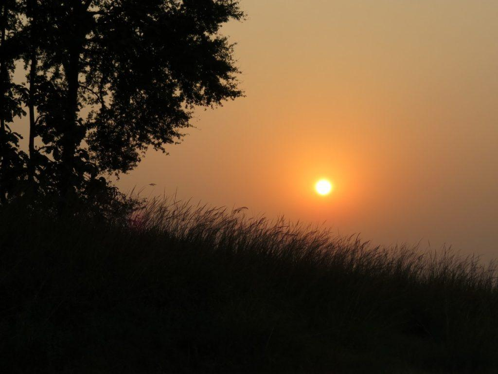 Stunning sunsets of satpura