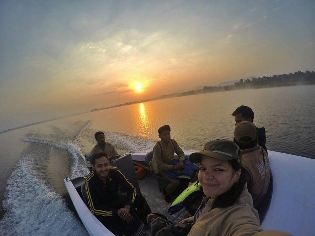 boat ride satpura