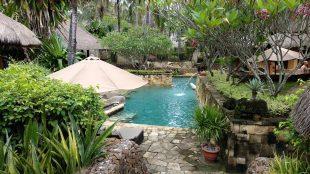 private pool at novotel