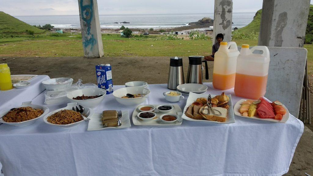 Breakfast with a view :)
