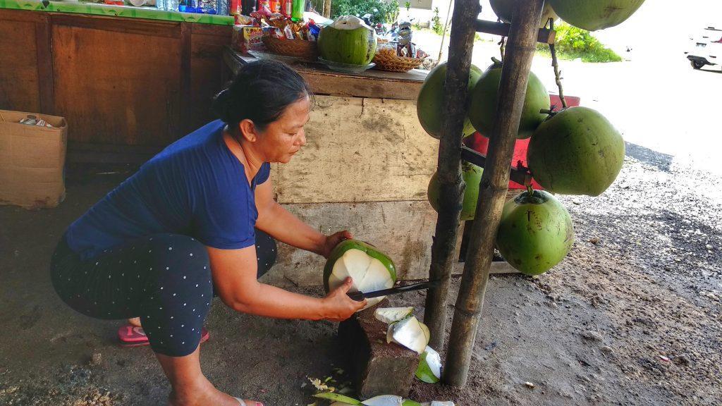coconut water bali