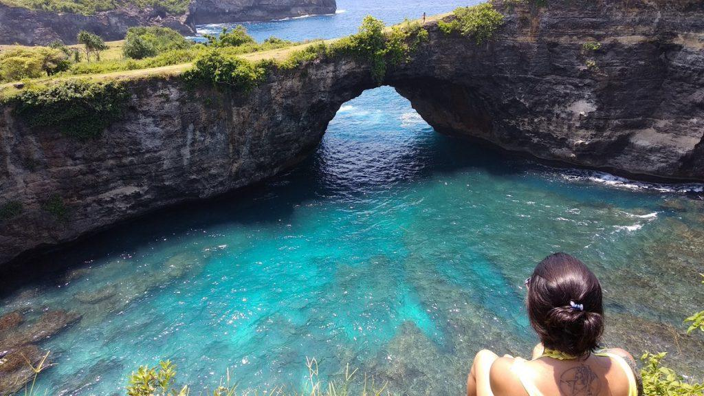 Broken beach - stunning attraction of Nusa Penida