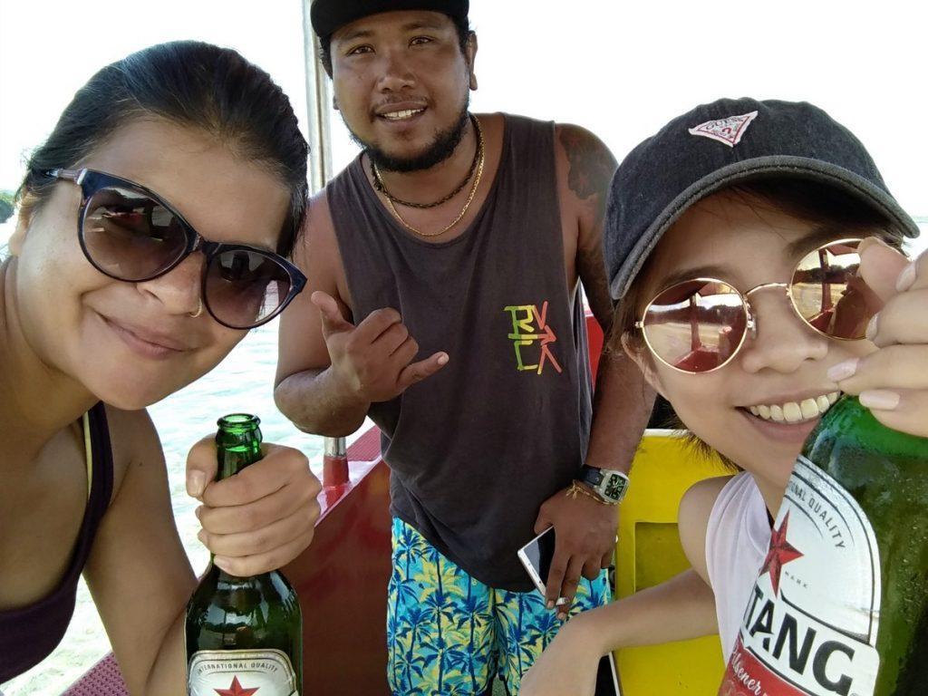 Nusa penida boating