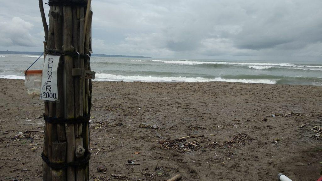shower beach