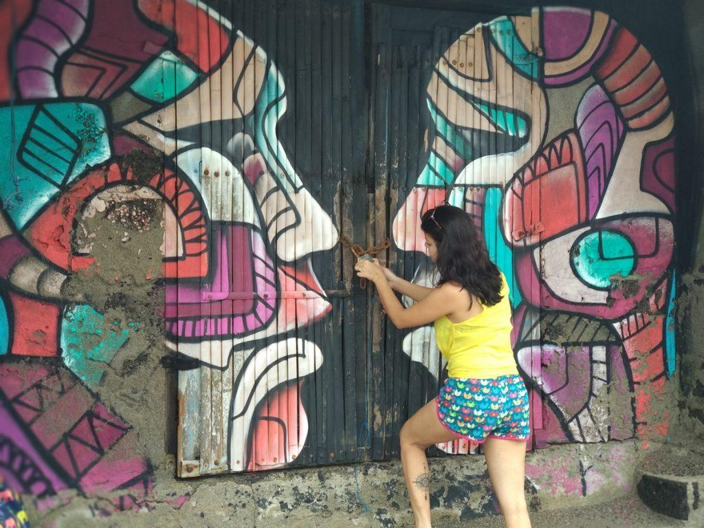 Graffiti bali