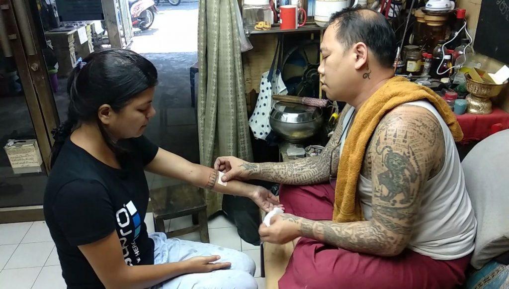 sak yant thailand