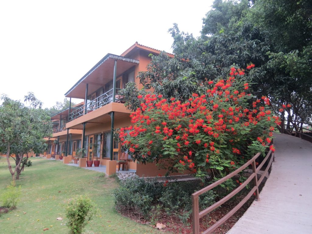 Grounds of Tarangi resort