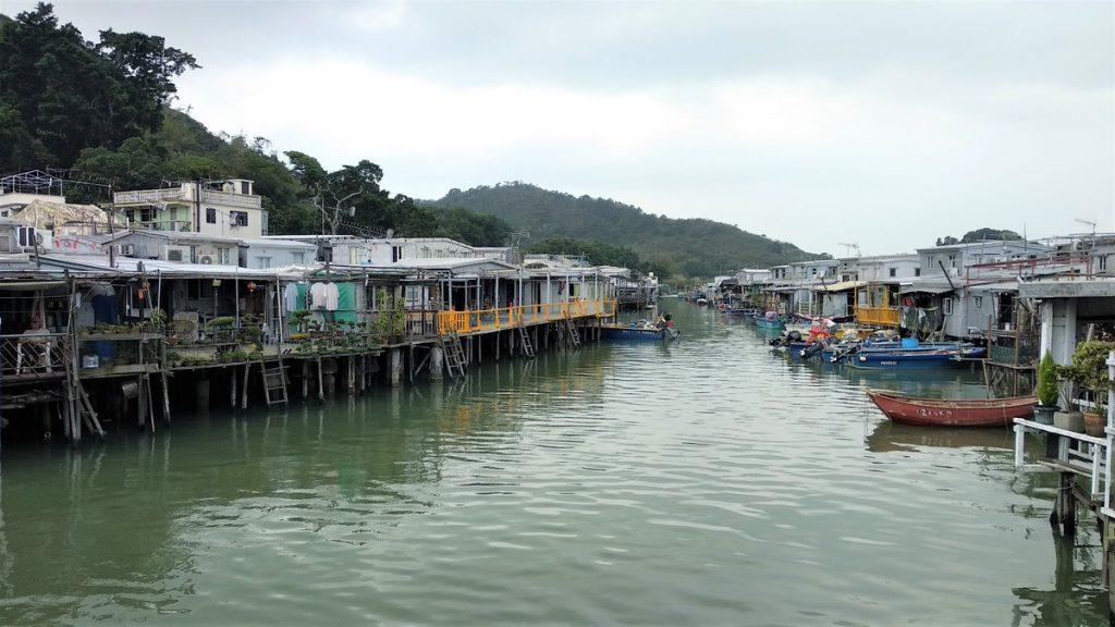 Tai O fishing village on stilts