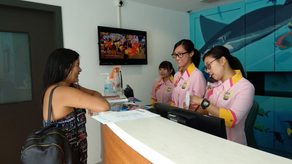staff at oceanpark