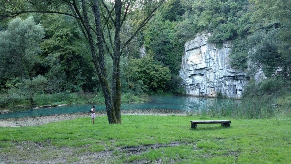 Krupa river spring