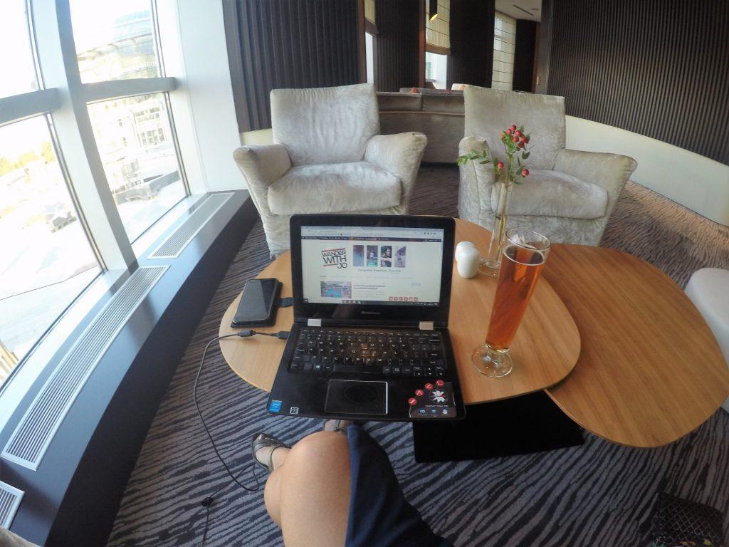 executive lounge in Swissotel