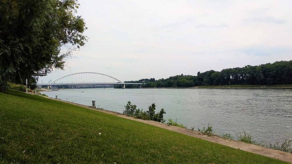 chill by the Danube