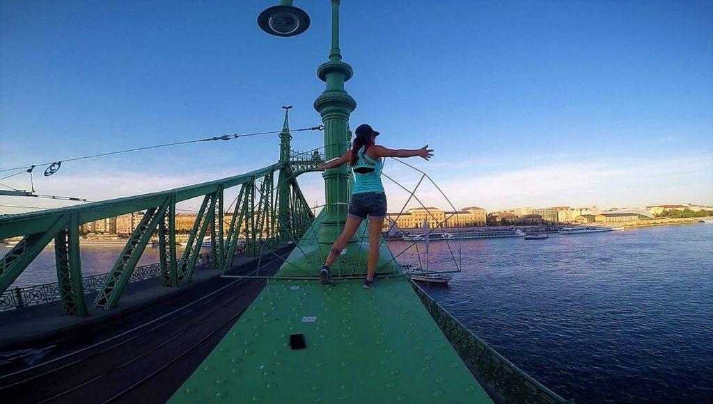 liberty bridge budapest instagram