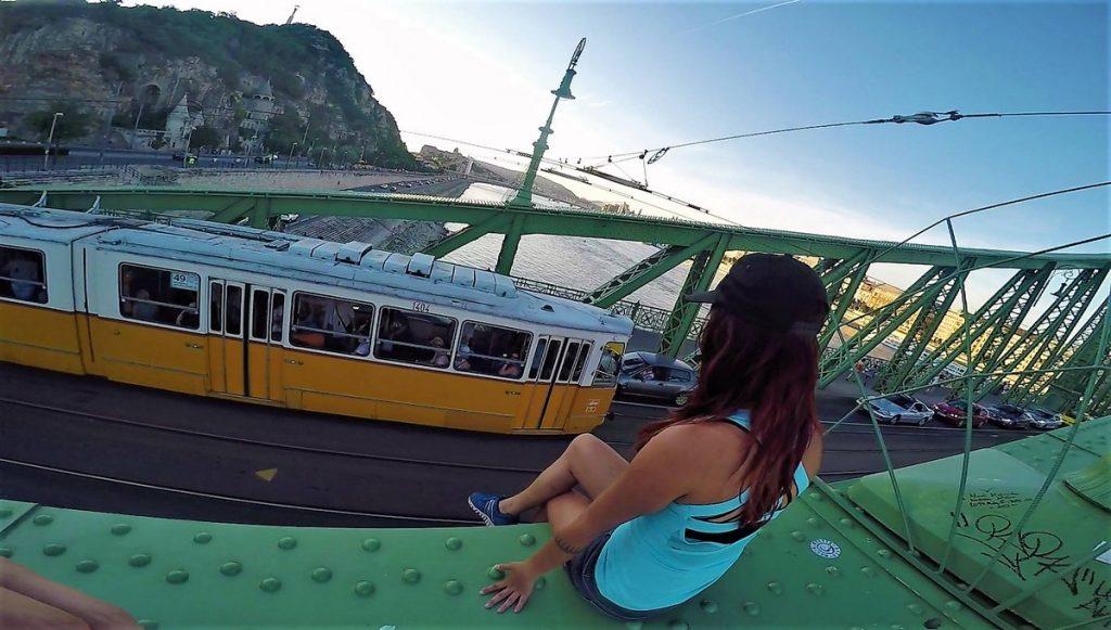 budapest yellow trams