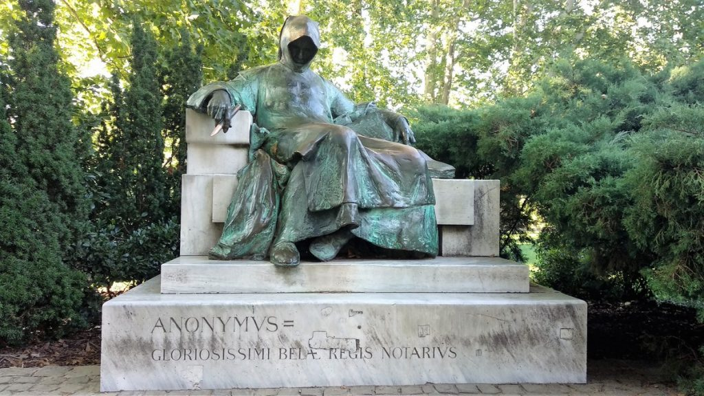 Anonymous statue