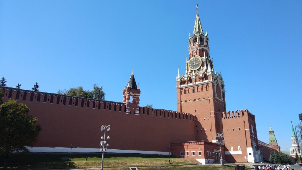 Iconic buildings of Moscow