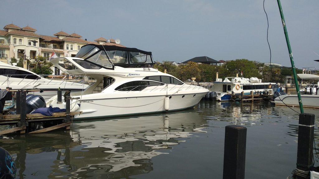 Boat to Pulau macan