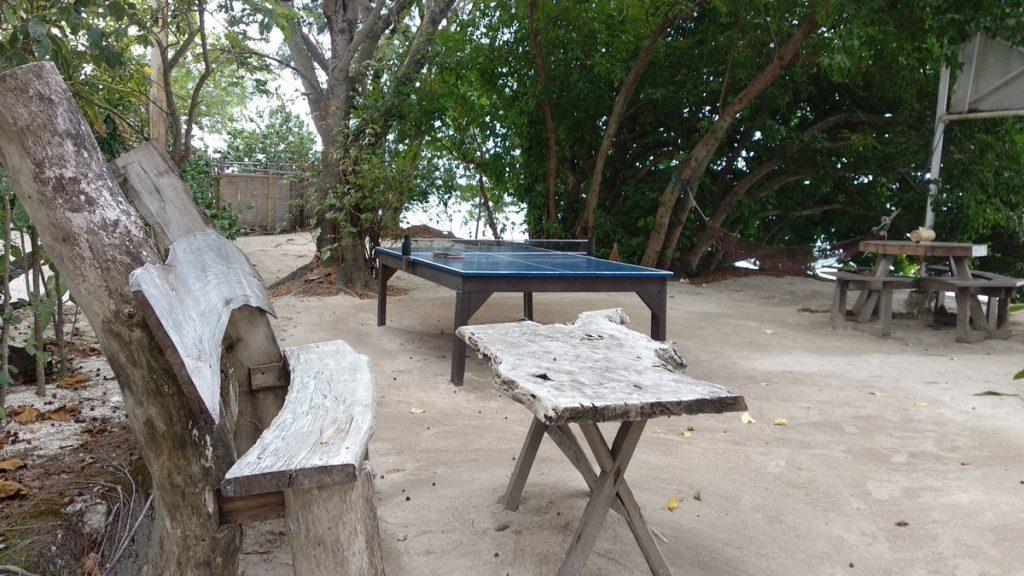 ping pong at pulau macan