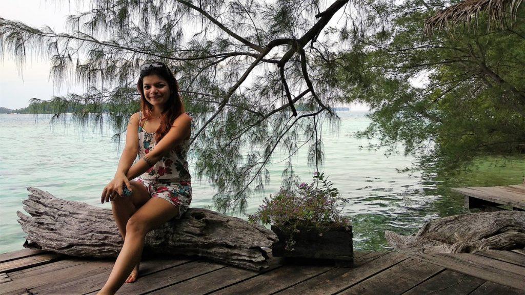 photographs at Pulau Macan