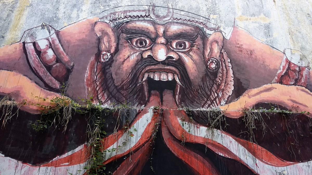 Taman Festival Bali Spooky Abandoned Theme Park